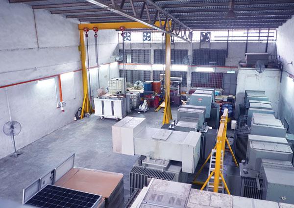Inventory & Service Yard